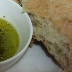 ciabatta and dipping oil